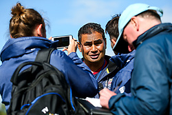 Bristol Rugby Head Coach Pat Lam is interviewed post match - Rogan/JMP - 05/08/2017 - RUGBY UNION - Cleve RFC - Bristol, England - Bristol Rugby v Harlequins - Pre-Season Friendly.