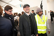 MARC QUINN, opening of the 2010 Frieze art fair. Regent's Park. London. 13 October 2010. -DO NOT ARCHIVE-© Copyright Photograph by Dafydd Jones. 248 Clapham Rd. London SW9 0PZ. Tel 0207 820 0771. www.dafjones.com.