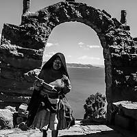 Where: Lake Titicaca, Peru.<br />
