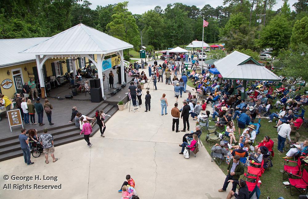 Abita Springs Busker Festival; Abita Springs, Louisiana on April 23, 2017