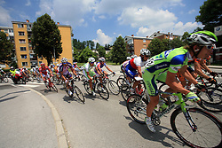 Riders in Grosuplje during 1st stage of the 15th Tour de Slovenie from Ljubljana to Postojna (161 km) , on June 11,2008, Slovenia. (Photo by Vid Ponikvar / Sportal Images)/ Sportida)