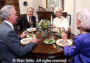 Active Aging Senior Citizens, Retired, Activities, Couples at Dinner at Home, Elderly Socializing with Dinner