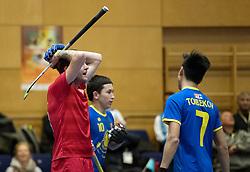 BERLIN - Indoor Hockey World Cup<br /> Kazakhstan - Poland<br /> foto: MIKULA Artur<br /> WORLDSPORTPICS COPYRIGHT FRANK UIJLENBROEK