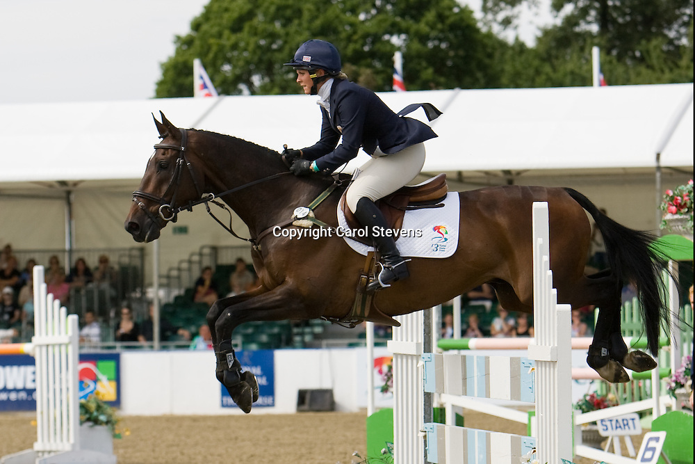 Gemma Tattersall and Chamrock   Express Eventing 2010