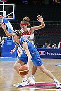 DESCRIZIONE : Riga Latvia Lettonia Eurobasket Women 2009 Quarter Final Spagna Italia Spain Italy<br /> GIOCATORE : Raffaella Masciadri<br /> SQUADRA : Italia Italy<br /> EVENTO : Eurobasket Women 2009 Campionati Europei Donne 2009 <br /> GARA : Spagna Italia Spain Italy<br /> DATA : 17/06/2009 <br /> CATEGORIA : palleggio<br /> SPORT : Pallacanestro <br /> AUTORE : Agenzia Ciamillo-Castoria/E.Castoria