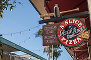 A Slice of New York Style Pizza Sports Hub in Huntington Harbour Mall Huntington Beach California