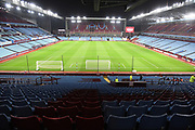 Villa Park viewed from the Holte end during the Premier League match between Aston Villa and Newcastle United at Villa Park, Birmingham, England on 25 November 2019.