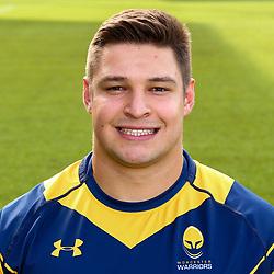 Gareth Milasinovich of Worcester Warriors - Mandatory by-line: Robbie Stephenson/JMP - 25/08/2017 - RUGBY - Sixways Stadium - Worcester, England - Worcester Warriors Headshots