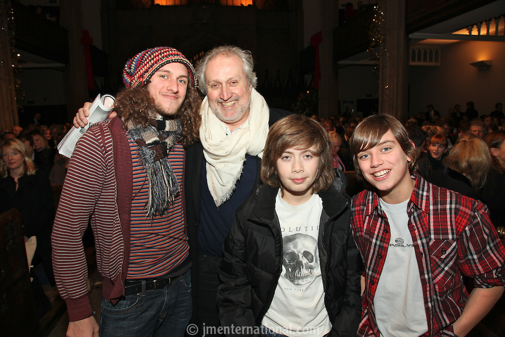 Josh, Nick and Flynn Allott and Sam Rice
