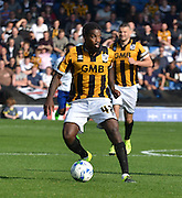Anthony Grant looks to cross the ball  during the Sky Bet League 1 match between Bury and Port Vale at Gigg Lane, Bury, England on 19 September 2015. Photo by Mark Pollitt.