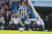 Brighton central midfielder Beram Kayal during the Sky Bet Championship match between Brighton and Hove Albion and Burnley at the American Express Community Stadium, Brighton and Hove, England on 2 April 2016. Photo by Bennett Dean.