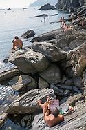 Vernazza, Cinqueterre, Liguria, Italy /  Italia