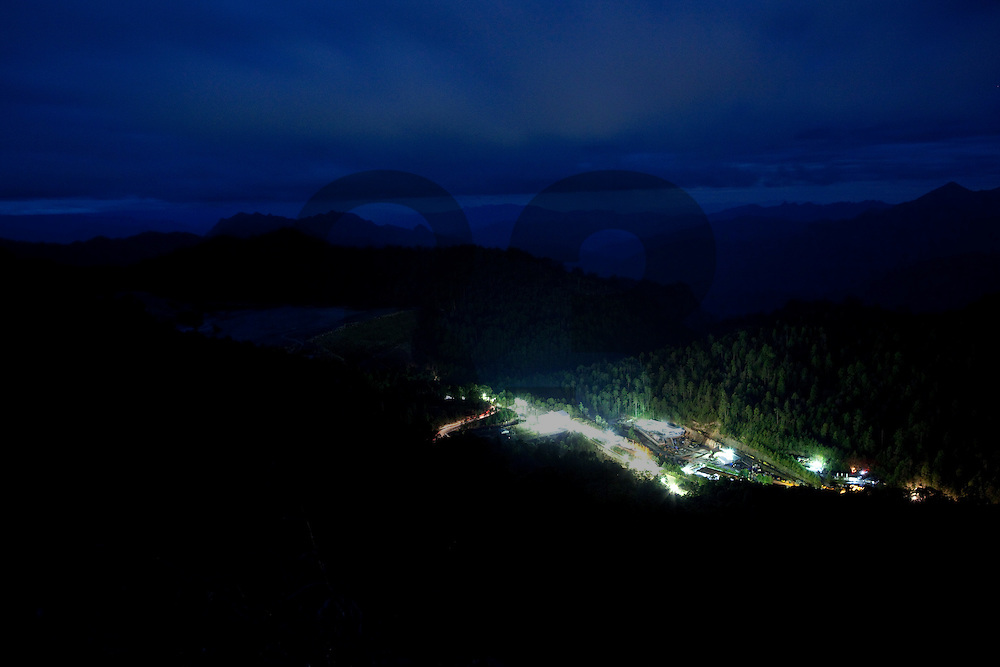 The Cienega gold mine, Fresnillo plc's  most remote mine, hidden in the mountainous region of Durango, Mexico