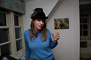 EMMA ELLIOTT, Come and Check My Gaff. Mixed exhibition in an empty house in Chelsea. I Petyt Place. London. 16 December 2008. Exhibition on until 21 December.  *** Local Caption *** -DO NOT ARCHIVE-© Copyright Photograph by Dafydd Jones. 248 Clapham Rd. London SW9 0PZ. Tel 0207 820 0771. www.dafjones.com.<br /> EMMA ELLIOTT, Come and Check My Gaff. Mixed exhibition in an empty house in Chelsea. I Petyt Place. London. 16 December 2008. Exhibition on until 21 December.