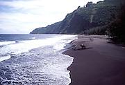 Horseback Riding, Waipio Beach, Island of Hawaii<br />