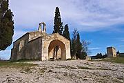 Chapelle Saint-Sixte near Eygalieres, Provence, France