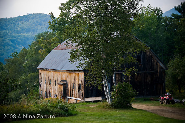 Old New Hampshire barn.