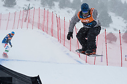 MOORE Ben, Snowboarder Cross, 2015 IPC Snowboarding World Championships, La Molina, Spain