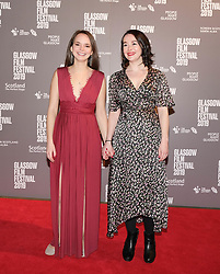 Glasgow Film Festival 2019<br /> <br /> The UK Premiere of Tell It to the Bees<br /> <br /> Pictured: Rebecca Hanssen and Joanne Gallagher<br /> <br /> (c) Aimee Todd | Edinburgh Elite media