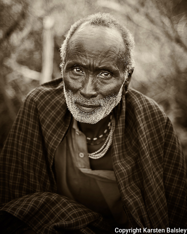 &ldquo;Old...Wise...Gentle&rdquo;                                         Tanzania<br />