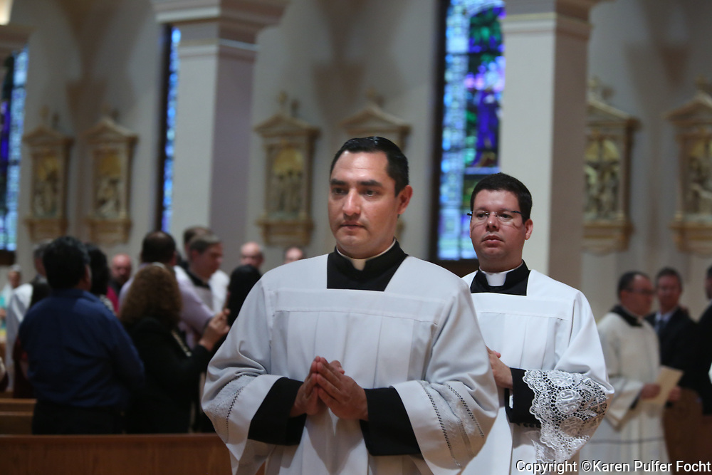 Chalice Blessing service in Memphis, Tennessee at Immaculate Conception Cathedral.
