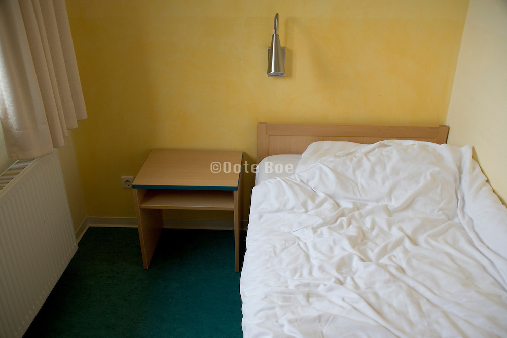 single person bedroom in an small hotel Germany Hamburg