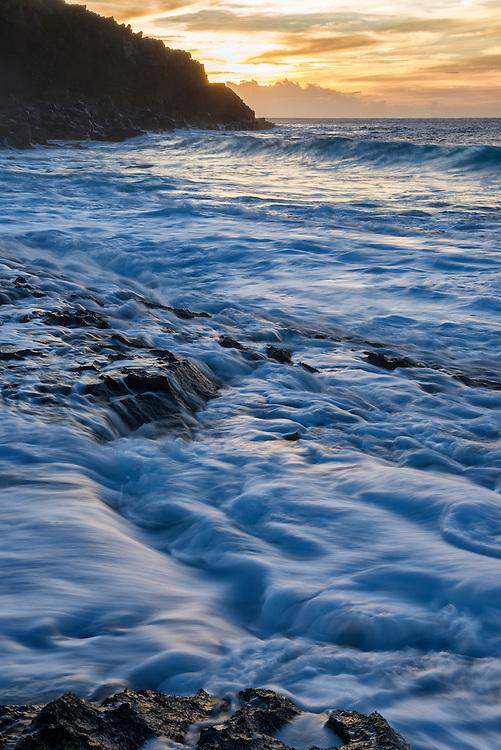 USA, Hawaii, Molokai, Kepuhi beach, West Molokai