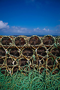 "Lobster pots in Fahamore Harbour, Co, Kerry, Ireland This mage can be licensed via Millennium Images. Contact me for more details, or email mail@milim.com For prints, contact me, or click ""add to cart"" to some standard print options."