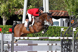Lamaze Eric (CAN) - Powerplay<br /> Furusiyya FEI Nations Cup Jumping Final Round 1<br /> CSIO Barcelona 2013<br /> © Dirk Caremans