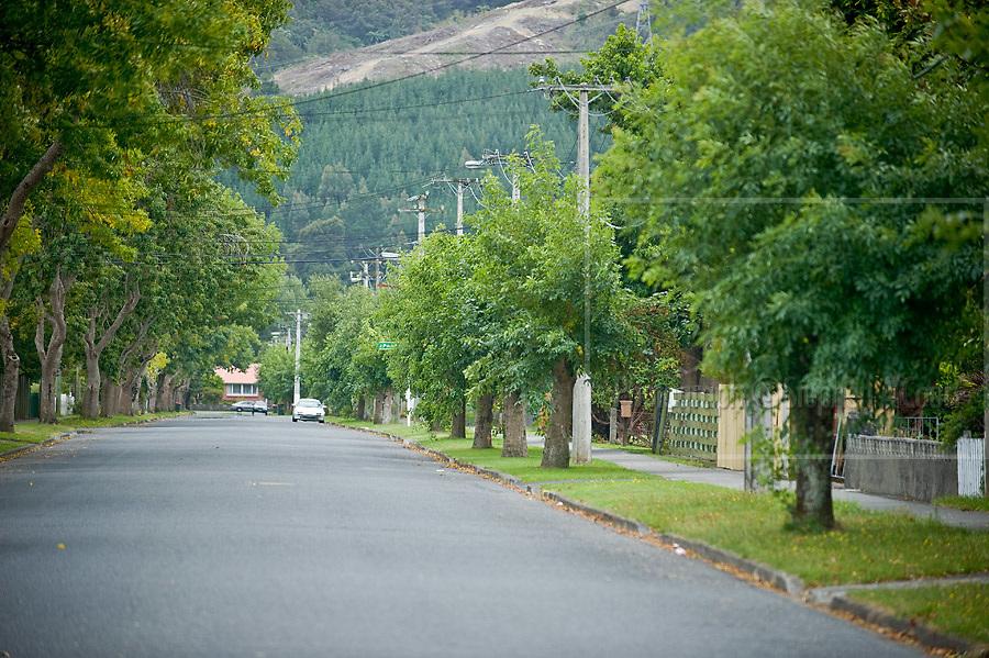 Streets surrounding Elderslea, Redwood Street, Upper Hutt.