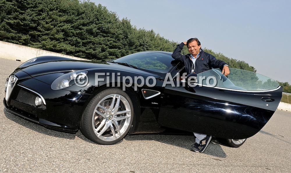 &copy; Filippo Alfero / LaPresse<br /> Torino, 14-09-2007<br /> Alfa 8c competizone in prova ai vip presso il circuito di Balocco