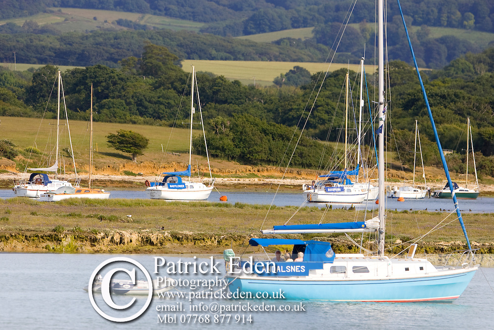 Newtown, Creek, Boats, yachts, Newtoen, Isle of Wight, England, UK, Photographs of the Isle of Wight by photographer Patrick Eden photography photograph canvas canvases