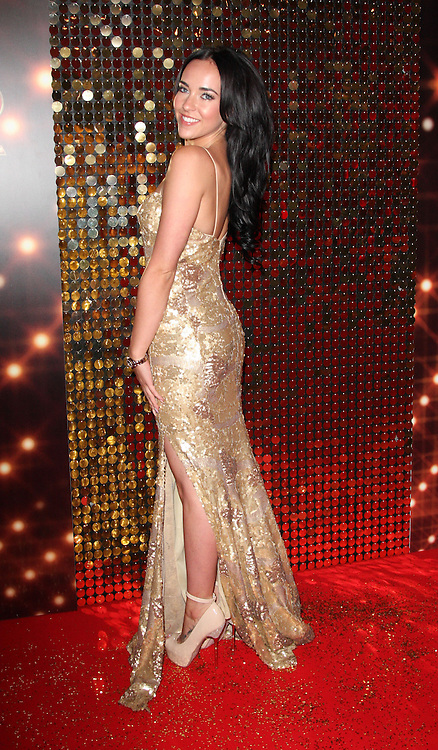 Stephanie Davis   at the British Soap Awards in London, Saturday, 24th May 2014. Picture by  i-Images