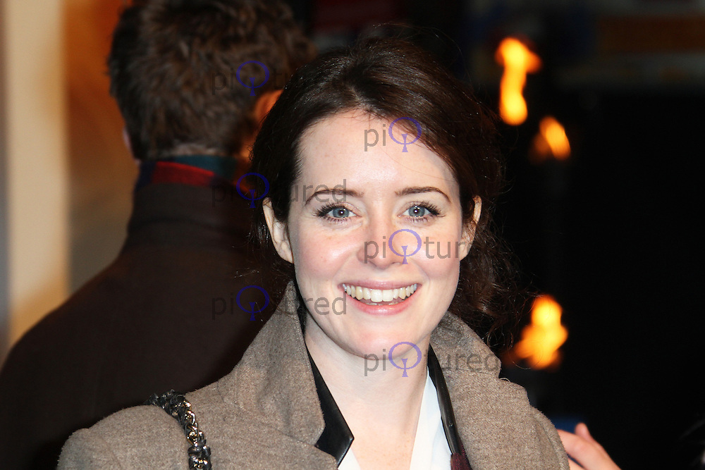 LONDON - DECEMBER 03: Claire Foy attended the UK Film Premiere of 'Life Of Pi' at the Empire Cinema, Leicester Square, London, UK. December 03, 2012. (Photo by Richard Goldschmidt)