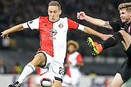 20-10-2016: Voetbal: Feyenoord v Zarja Loegansk: Rotterdam<br /> <br /> (L-R) Jens Toornstra (Feyenoord) during Europa League match between Feyenoord and Zorja Luhansk on 20 oktober 2016 at Stadion Feijenoord (de Kuip), Rotterdam, Zuid-Holland<br /> <br /> Europa League - Season 2016 / 2017<br /> <br /> Photo: Gertjan Kooij