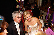 Bernie Ecclestone and Irina Gorbachev.  Crillon 2004 Debutante Ball. Crillon Hotel. Paris. 26 November 2004. ONE TIME USE ONLY - DO NOT ARCHIVE  © Copyright Photograph by Dafydd Jones 66 Stockwell Park Rd. London SW9 0DA Tel 020 7733 0108 www.dafjones.com