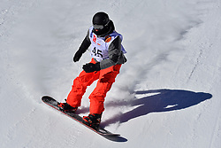 World Cup Banked Slalom, BOUDIN Olivier, FRA at the 2016 IPC Snowboard Europa Cup Finals and World Cup