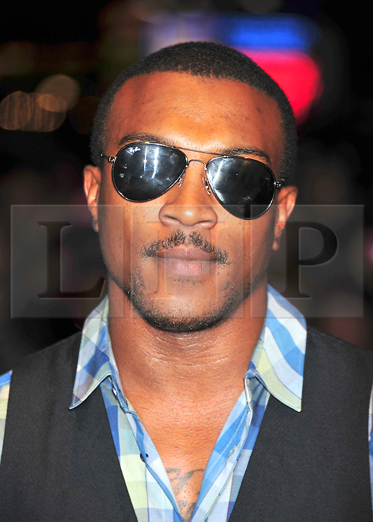 © Licensed to London News Pictures. 23/10/2011. London,England. Ashley Walters attends the 55th British Film Festival in Leicester square London  Photo credit : ALAN ROXBOROUGH/LNP
