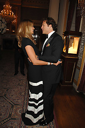 ELLE MACPHERSON and ARPAD BUSSON at the Ark 2007 charity gala at Marlborough House, Pall Mall, London SW1 on 11th May 2007.<br /><br />NON EXCLUSIVE - WORLD RIGHTS