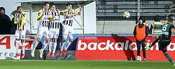 10.03.2019, TGW Arena, Pasching, AUT, 1. FBL, LASK vs FC Wacker Innsbruck, 21. Runde, im Bild Freistoss durch Roman Kerschbaum (FC Wacker Innsbruck) // during the tipico Bundesliga 21th round match between LASK and FC Wacker Innsbruck at the TGW Arena in Pasching, Austria on 2019/03/10. EXPA Pictures © 2019, PhotoCredit: EXPA/ Roland Hackl