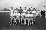 17/02/1963<br /> 02/17/1963<br /> 17 February 1963<br /> Soccer: Transport v Cobh Ramblers at Harold's Cross, Dublin.<br /> The Cobh Ramblers team.