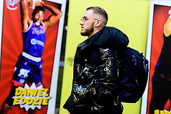 Jordan Nicholls of Bristol Flyers arrives at SGS Wise Arena prior to kick off - Photo mandatory by-line: Ryan Hiscott/JMP - 17/01/2020 - BASKETBALL - SGS Wise Arena - Bristol, England - Bristol Flyers v London City Royals - British Basketball League Championship