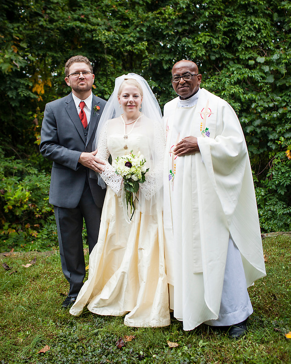 The wedding of David Fellerath and Katja Hill at Spruce Pine Lodge, Bahama, North Carolina, Sunday, Oct. 7, 2012D.L. Anderson
