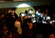 Picture by Alan Stanford/Focus Images Ltd +44 7915 056117<br /> 14/11/2013<br /> Anthony Joshua arrives for his heavyweight contest at York Hall, Bethnal Green.