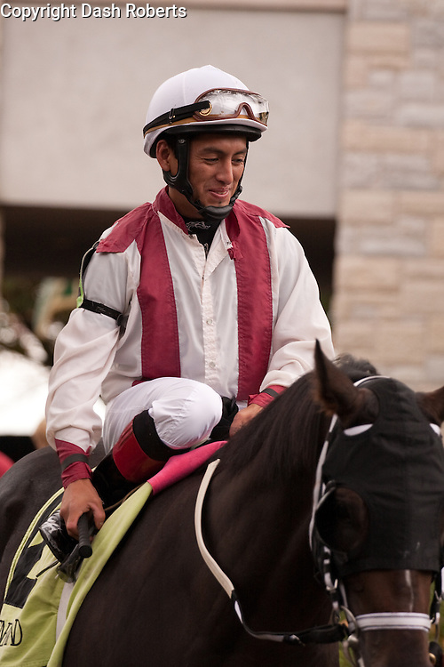 Jockey Aldo Canchano