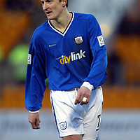 Chris Hay, St Johnstone FC....2003/04<br /><br />Picture by Graeme Hart.<br />Copyright Perthshire Picture Agency<br />Tel: 01738 623350  Mobile: 07990 594431