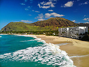 Papaoneone Beach, Waianae, Leeward, Oahu, Hawaii, USA