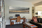 17194bbw_'Torquay Front Beach sunrise'<br /> 2.8M x 84cm canvas in Torquay house