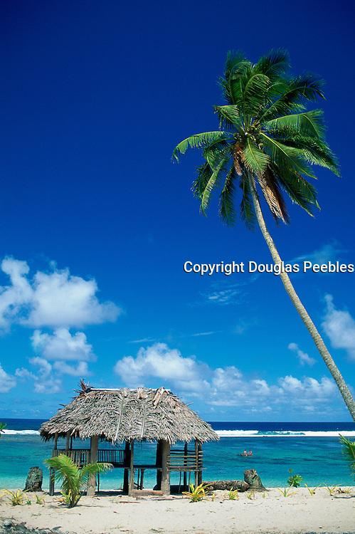 Beach Fales, South East Coast, Upolu, Samoa<br />
