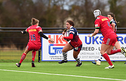 Daisie Mayes of Bristol Bears Women has the try line in her sights - Mandatory by-line: Paul Knight/JMP - 01/12/2018 - RUGBY - Shaftesbury Park - Bristol, England - Bristol Bears Women v Harlequins Ladies - Tyrrells Premier 15s
